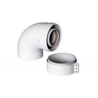 Отвод подключения коаксиальный Ø60/100 (BAXI), KHG71410141-