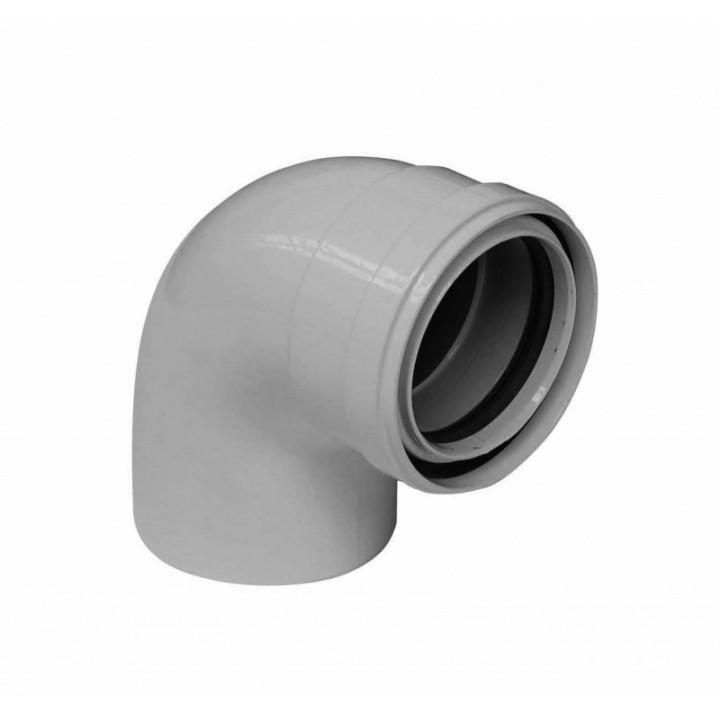 Отвод 90° для труб с изоляцией, диам. 80 мм (BAXI) KHG71410511-