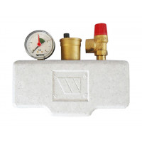 Группа безопасности котла Watts KSG 30/20M-ISO до 100 кВт в теплоизоляции