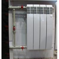 Монтаж радиатора от