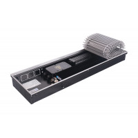 Конвектор внутрипольный STOUT SCQ 110.190.2500 (Решётка роликовая, алюминий) 3887 Вт