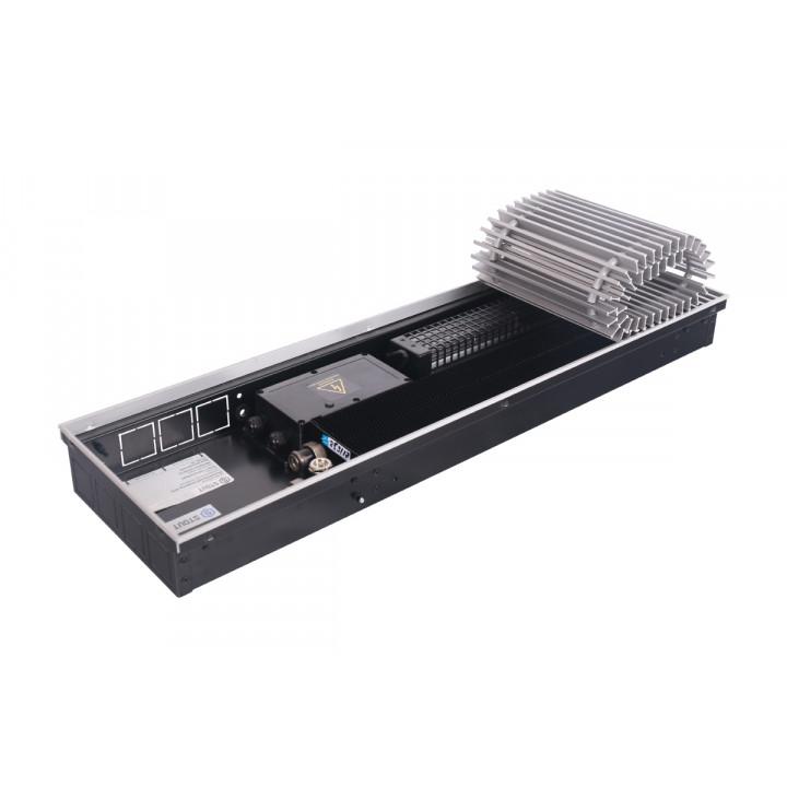 Конвектор внутрипольный STOUT SCQ 75.240.2250 (Решётка роликовая, алюминий) 4385 Вт