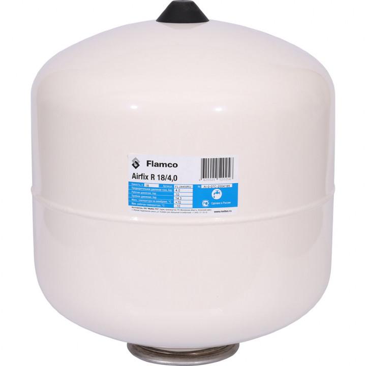 Гидропневмобак Flamco Airfix R (18 л.) 70°C PN10,  вертик.