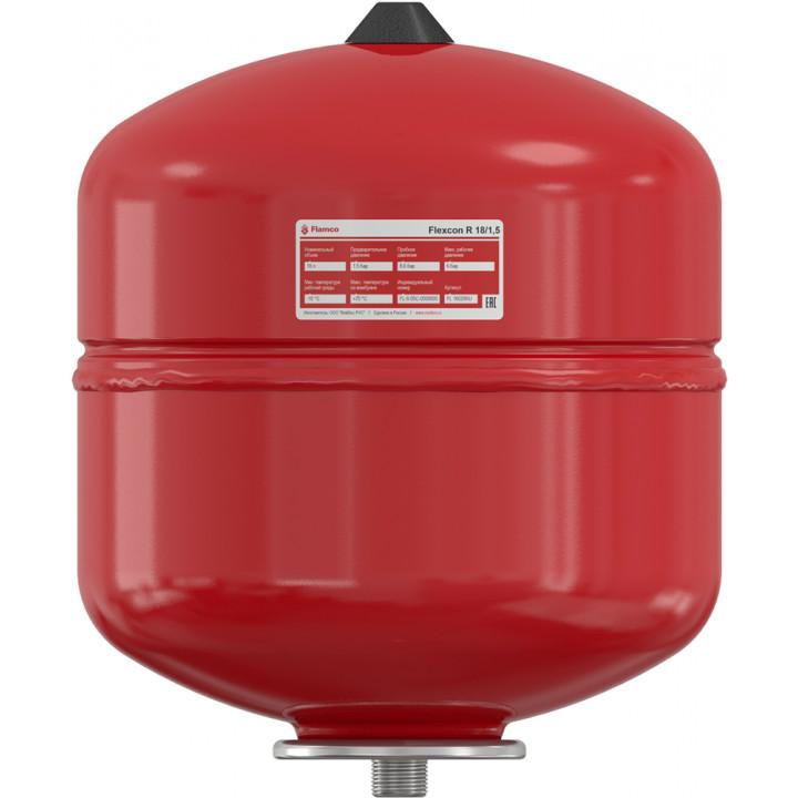 Расширительный бак Flamco Flexcon R (18 л.) 70°C PN6, вертик.
