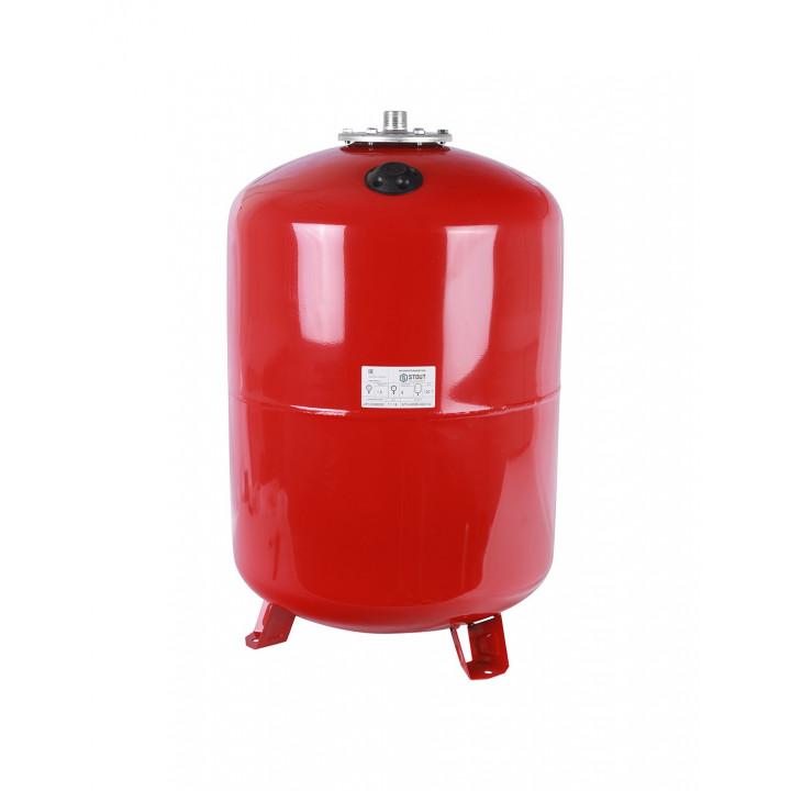 Расширительный бак Stout (150 л.) 100°C PN6, вертик.