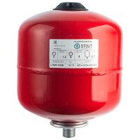 Расширительный бак Stout (24 л.) 100°C PN6, вертик.