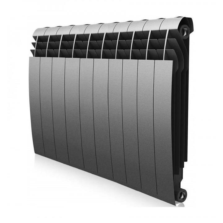 Радиатор ROYAL THERMO BiLiner/Silver Satin 500/80/12 секц. 2060 Вт