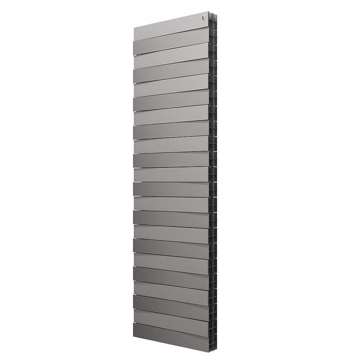 Радиатор ROYAL THERMO Tower PianoForte/Silver Satin 500*18 секц. 1610 Вт