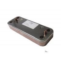 Теплообменник ГВС пластинчатый вторичный на 10 пластин Baxi (5686660)