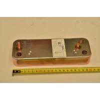 Теплообменник ГВС пластинчатый вторичный на 12 пластин Baxi (5686670)