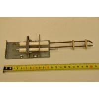 Горелка запальная с электродами в сборе (711549400)