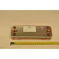 Теплообменник ГВС пластинчатый вторичный на 10 пластин Baxi (711612600)
