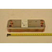 Теплообменник ГВС пластинчатый вторичный на 12 пластин Baxi (711612800)