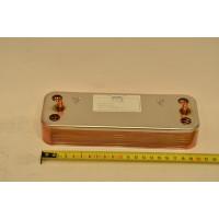 Теплообменник ГВС пластинчатый вторичный на 14 пластин Baxi (711613000)