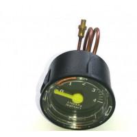 Манометр серии GMF с креплением и кнопкой подпитки воды (440012032)