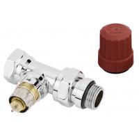 "Клапан термостатический Danfoss RA-NCX, 1/2""х1/2"", прямой (хром)"