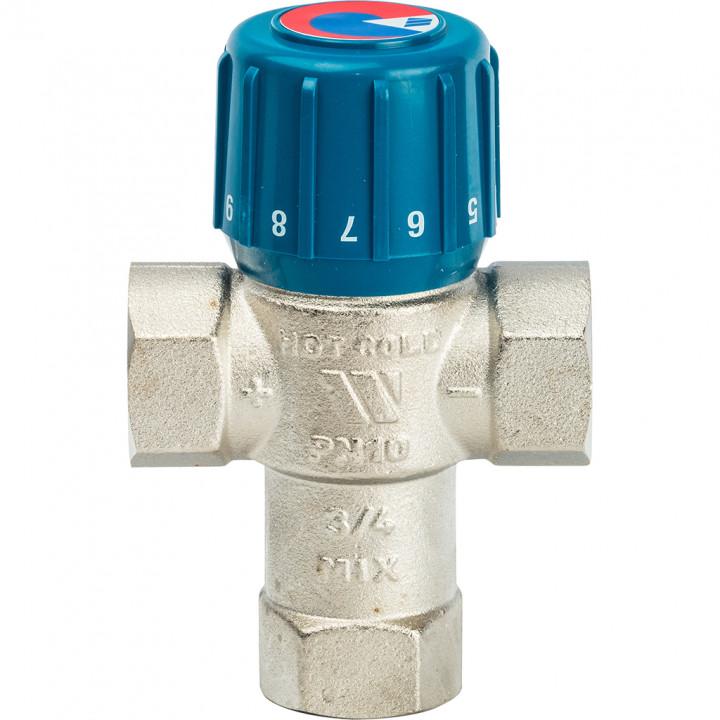 """Клапан термостатический смесительный WATTS AQUAMIX 3/4"""" 25-50C"""