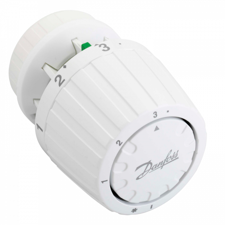 Термоголовка Danfoss RTR 7090 на клипсе